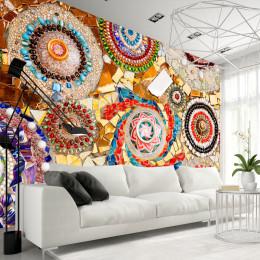 Fototapet colorat Mozaic marocan