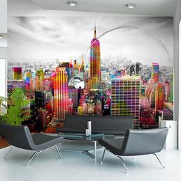 Fototapet - Colors of New York City II