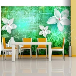 Fototapet - Floral notes III