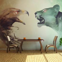 Fototapet - Interspecies clash