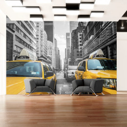 Fototapet - New York taxi