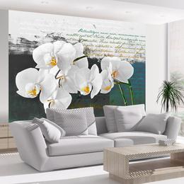 Fototapet - Orchid - poet's inspiration