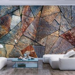 Fototapet - Pavement Tiles (Colourful)