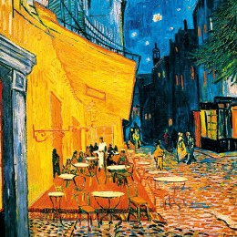 Fototapet Terasa cafenelei de Van Gogh