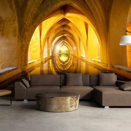Fototapet - The Golden Corridor