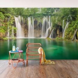 Fototapet vlies Cascada Plitvice