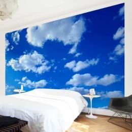 Fototapet vlies Cer cu nori