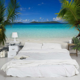 Fototapet vlies Vacanta perfecta in Maldives
