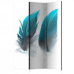 Paravan - Blue Feathers [Room Dividers]
