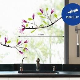 """Sticker de geam """"Ramurele de magnolie"""""""