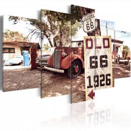 Tablou - California - vintage style