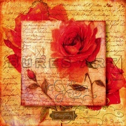 Tablou ''Timpuri romantice'' inramat