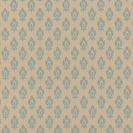 Tapet superlavabil cu motiv baroc stilizat repetitiv