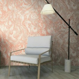 Tapet vinil marmorat cu pattern abstract in culori deschise