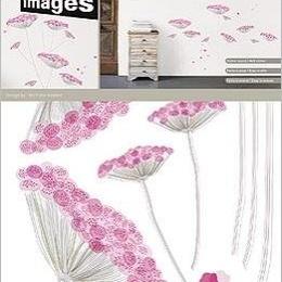 """Sticker decorativ """"Flori dantelate"""""""
