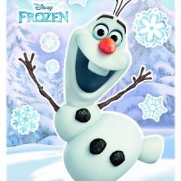 Sticker de perete pentru copii Olaf
