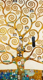Tablou Arborele vietii dupa Klimt, inramat