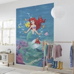 Fototapet pentru copii Ariel cantand