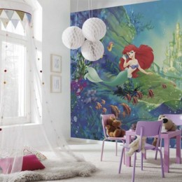 Fototapet copii Castelul lui Ariel