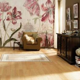 Fototapet floral Merian