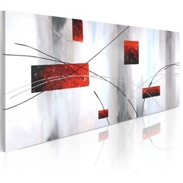Tablou pictat manual - Geometric manifestation