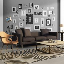 Fototapet - Wall full of frames