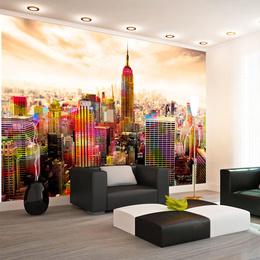Fototapet - Colors of New York City III