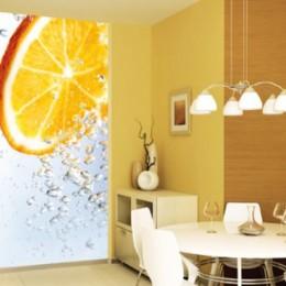 Fototapet fructe Felia de portocala