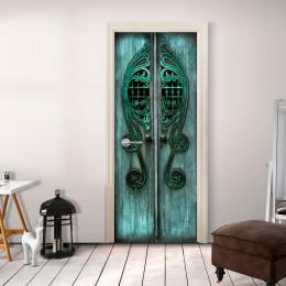Fototapet pentru ușă - Emerald Gates