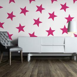 Fototapet - Pink Star