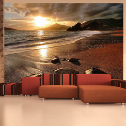 Fototapet - Relaxation by the sea