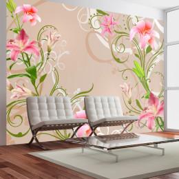 Fototapet - Subtle beauty of the lilies