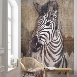 Fototapet vlies Zebra