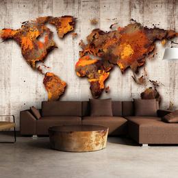 Fototapet - World of Bronze