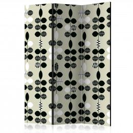 Paravan - Black and White Dots [Room Dividers]