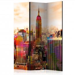 Paravan - Colors of New York City III [Room Dividers]