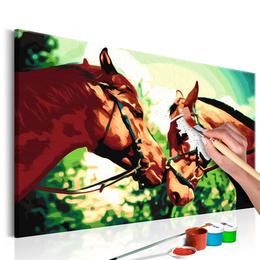 Pictatul pentru recreere - Two Horses