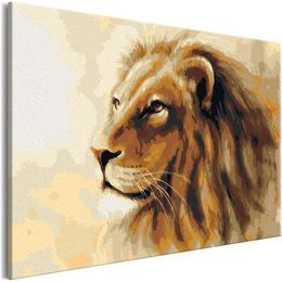 Pictura pe numere - Regele Leu