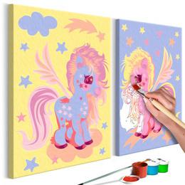Pictura pe numere - Unicorn Magic