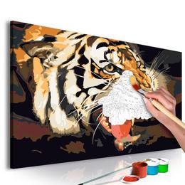 Pictura pe numere - Urlet de Tigru