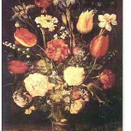 """Poster de arta """"Vas cu flori"""""""