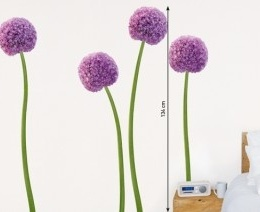 "Sticker de perete floral ""Allium"""