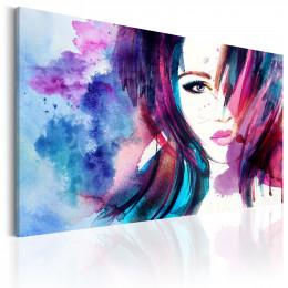 Tablou canvas Fata in acuarela