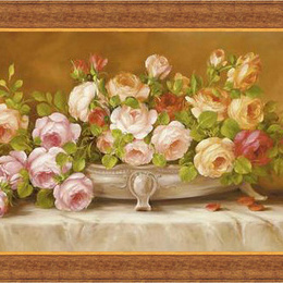 Tablou cu flori inramat Trandafiri III