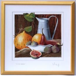 Tablou cu natura statica cu fructe