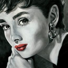 Tablou Eleganta a la Audrey Hepburn