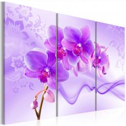 Tablou Orhidee eterica violet