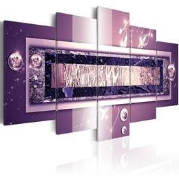 Tablou - Purple cascade
