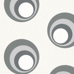 Tapet cercuri concentrice colorate