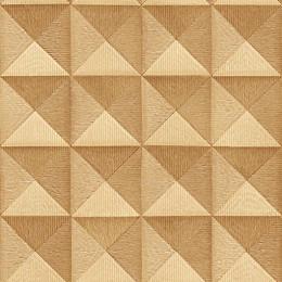 Tapet superlavabil 3D triunghiuri in patrate egale repetitive